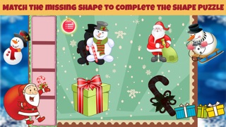 Christmas Shapes Puzzle - Educational Word Learning Game for Kids & Toddlers screenshot two