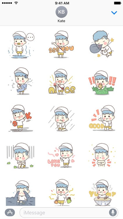 Daily − NHH Stickers