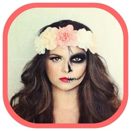 Halloween Face Booth-Face Morph with Scary Costume