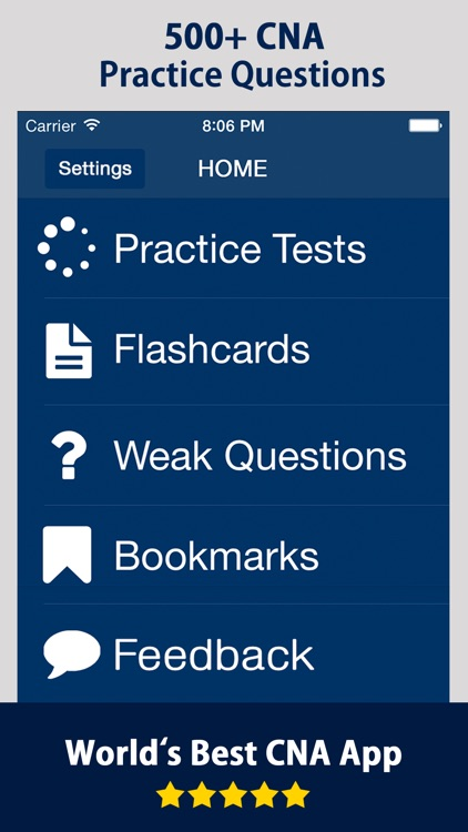 CNA Practice Exam Prep Practice Question Flashcard