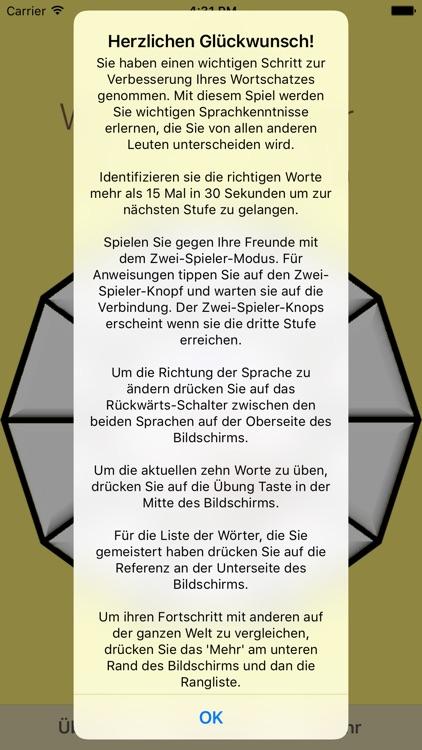 Vocabulary Trainer: German - Serbian screenshot-4