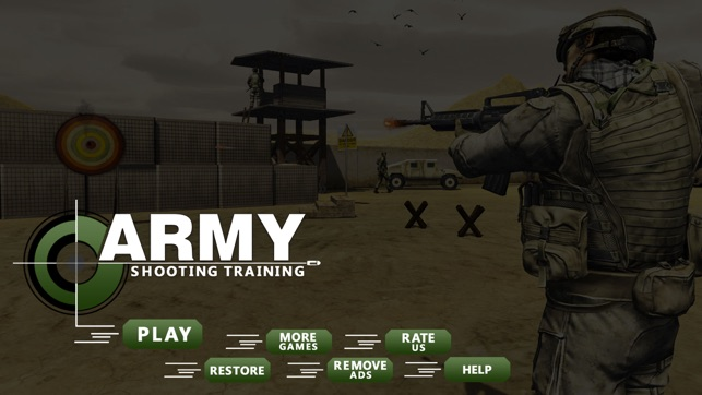 US Army Training Gun Simulator – Target Shooting on the App Store