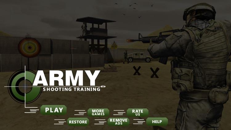 Army Sniper Shooting Training