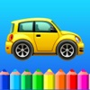 Coloring book Cars games for kids boys, girls free
