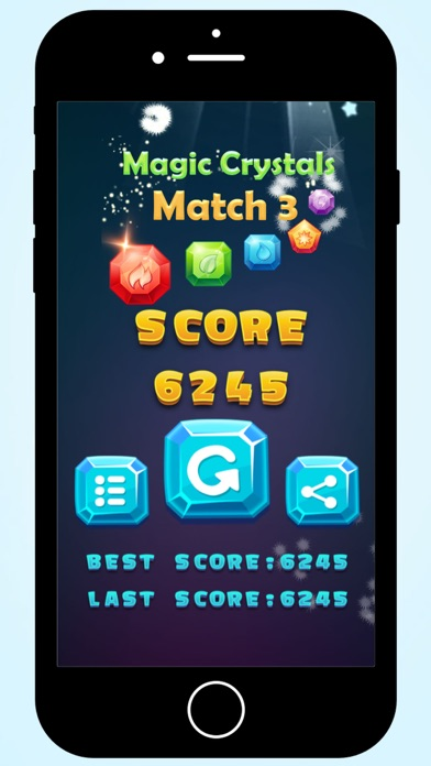 Magic Crystals match 3 screenshot four