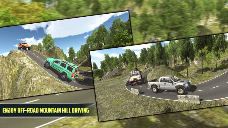 4X4 Offroad Jeep Mountain Hill screenshot-3
