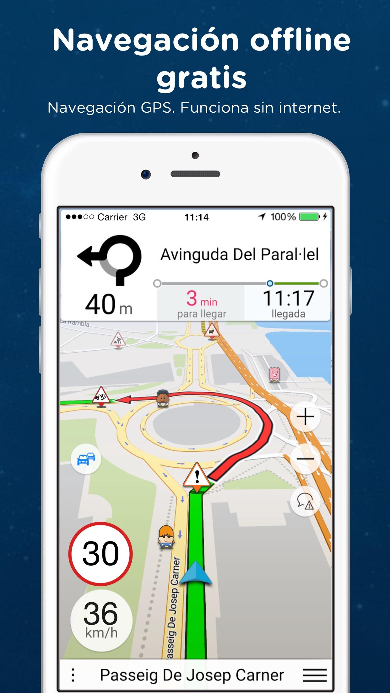 Navmii GPS Grecia Screenshot