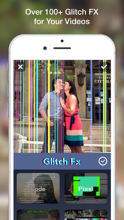 Glitch Art- Video Effects Edit screenshot-0