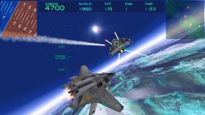 Screenshot from Fractal Combat X (FCX)