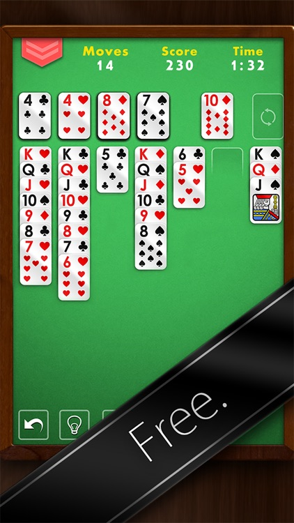 Solitaire Premium - Free Classic Card Game screenshot-4