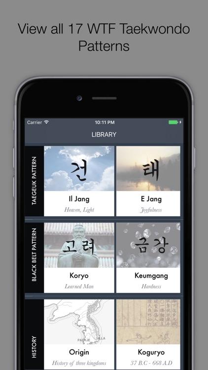 Taekwondo Bible - Poomsae and Terminology screenshot-0