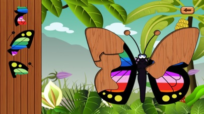 Butterfly baby games - learn with kids color game屏幕截圖3