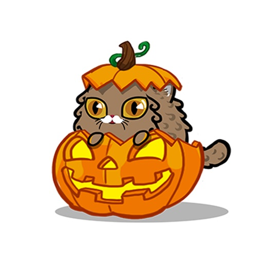 Fancy Cats Halloween Sticker Pack