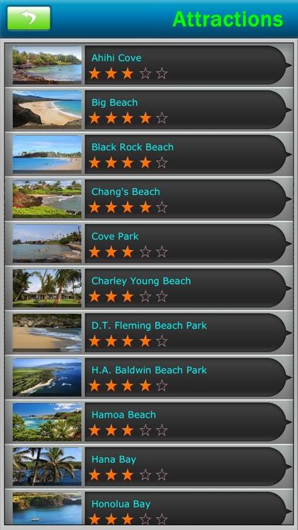 Maui - Hawaii Offline Map Travel Guide