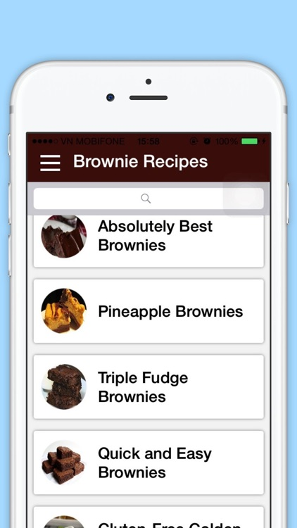 Brownie Recipes - Best Cookbook of  Sweet Food Recipes for Dinner and Breakfast