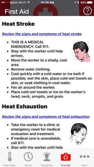 OSHA-NIOSH Heat Safety Tool on the App Store