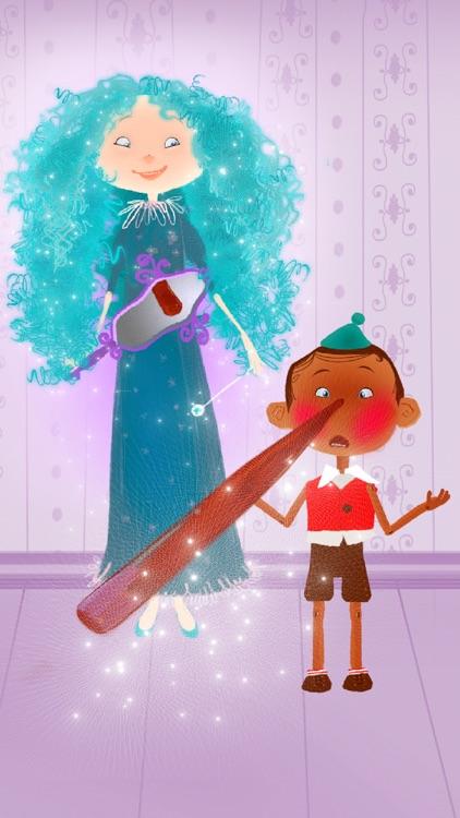 Pinocchio. Interactive Bedtime Story screenshot-3