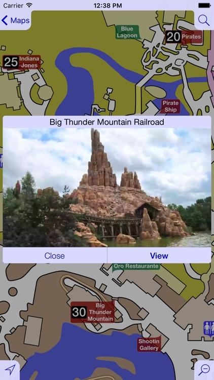 Maps for Disneyland Paris