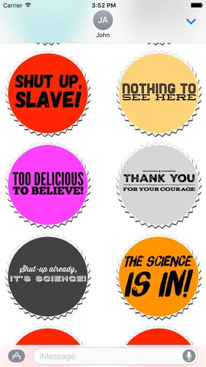 No Agenda Podcast Stickers screenshot-3