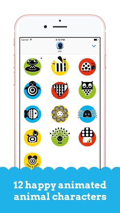 Onni & Ilona: Happy Stickers screenshot-3