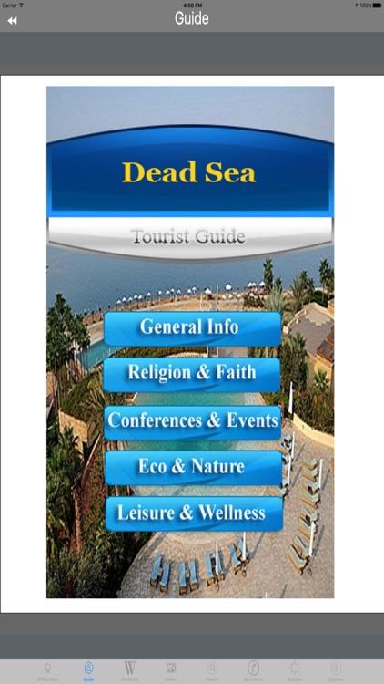 Dead Sea Tourist Travel Guide screenshot-3
