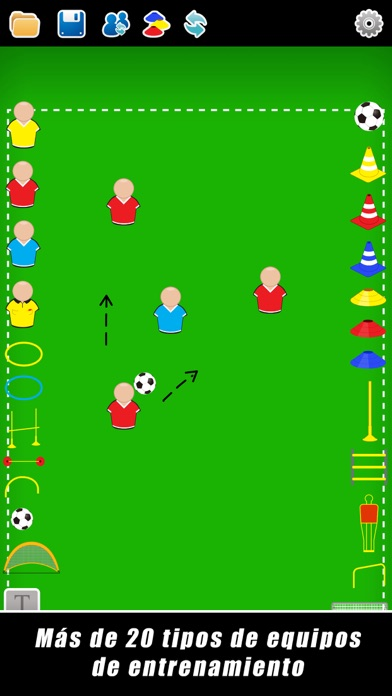 Screenshot for Pizarra Táctica: Fútbol++ in Chile App Store