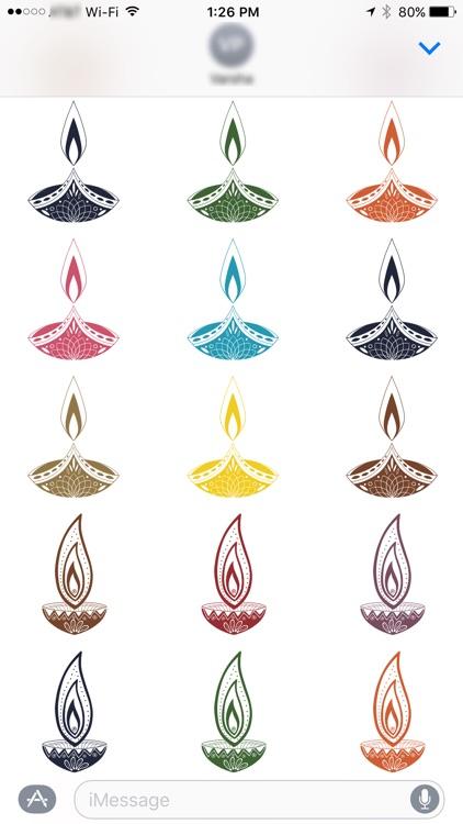 Diwali Stickers for iMessage screenshot-4