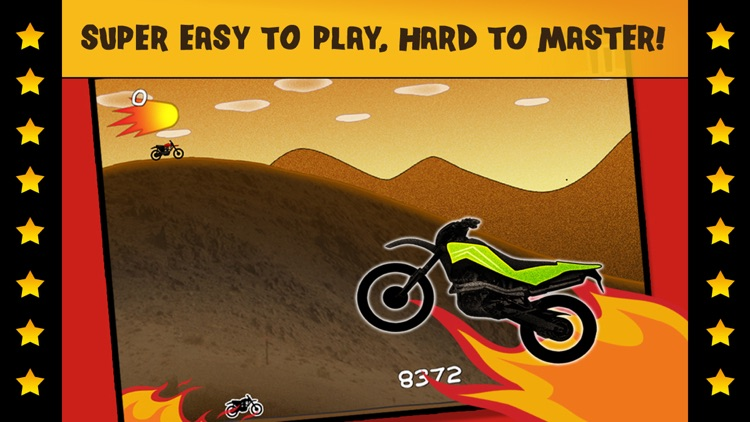 Motorcycle Bike Fire Chase Racing - Drive & Escape