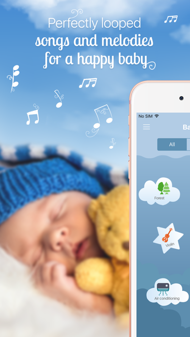 White Noise Baby: Sleep Sounds & Relax Lullabies | App Price Drops