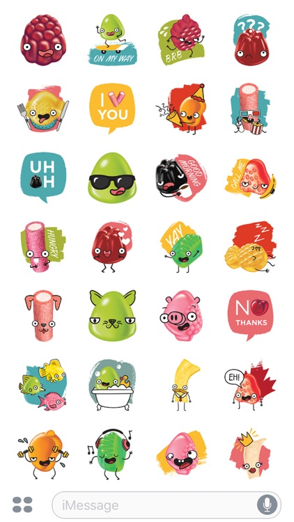 Dare Candy Co. Stickers