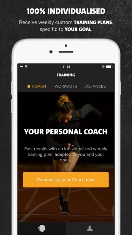 Freeletics Running app image