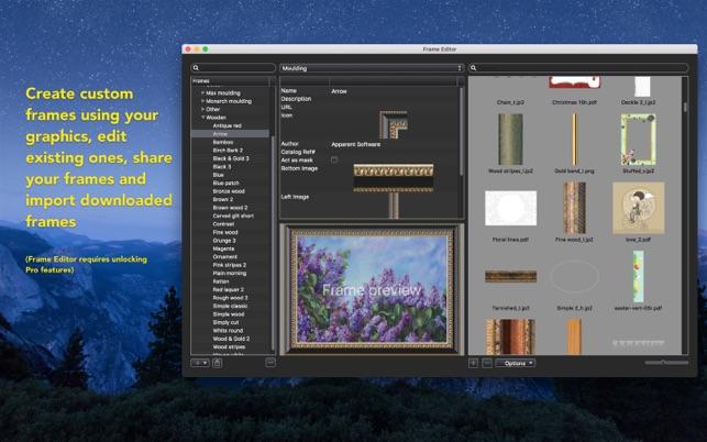imageframer をmac app storeで