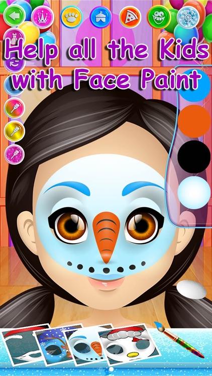 Carnival Face Paint - Kids Salon & Christmas Games
