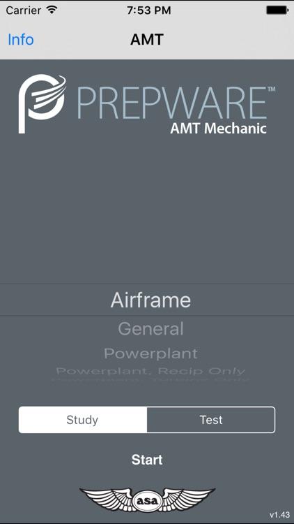 Prepware Aviation Maintenance Technician app image