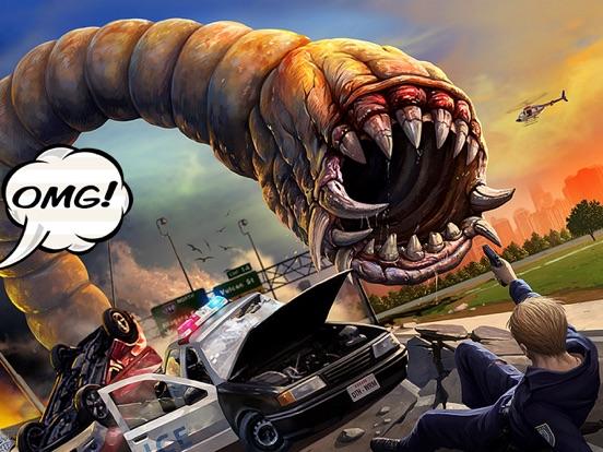Death Worm на iPad