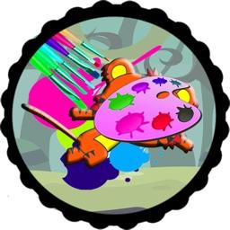 Paint Page Game Ni Hao Kai Lan Version