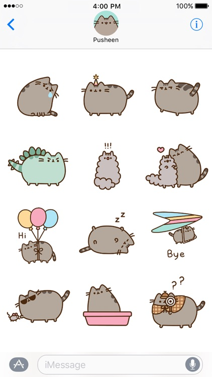 Pusheen Animated Stickers screenshot-3