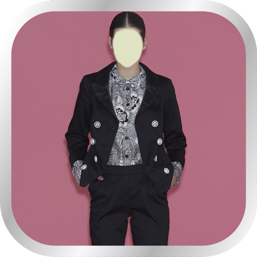 Women Fashion Suit Photo Montage