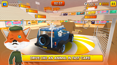 Screenshot from Animal Drivers