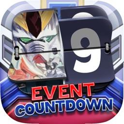 Event Wallpapers Robots War Manga Countdown Pro