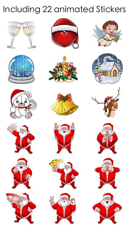 Xmas and New Year Stickers screenshot-4