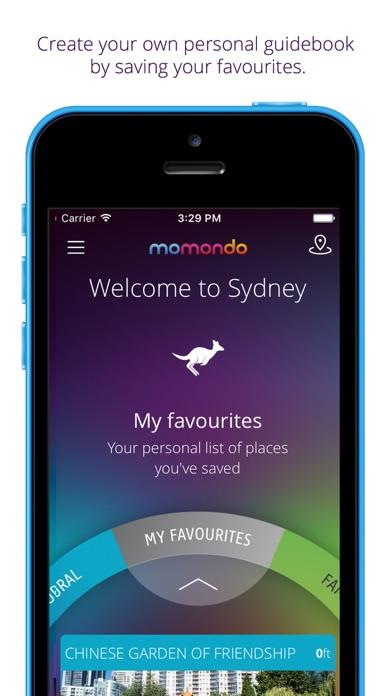 Sydney travel guide & map - momondo places