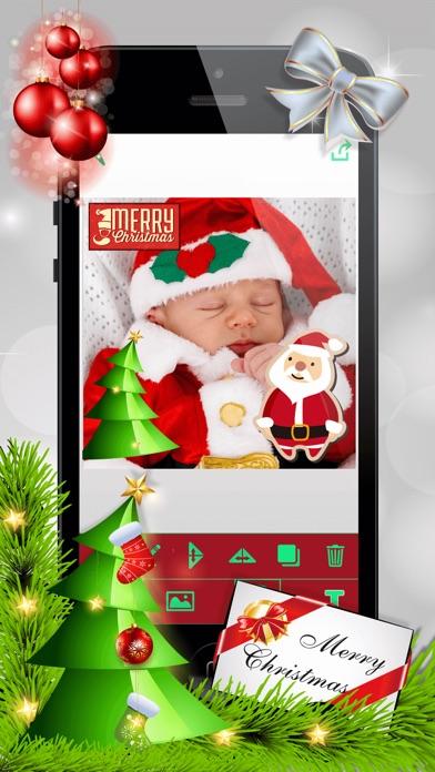 クリスマス・フォトブース – クリスマスステッカー写真編集ソフト紹介画像3