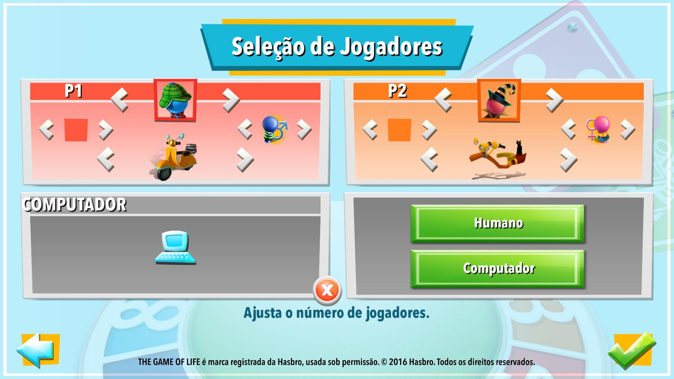 Screenshot do app The Game of Life