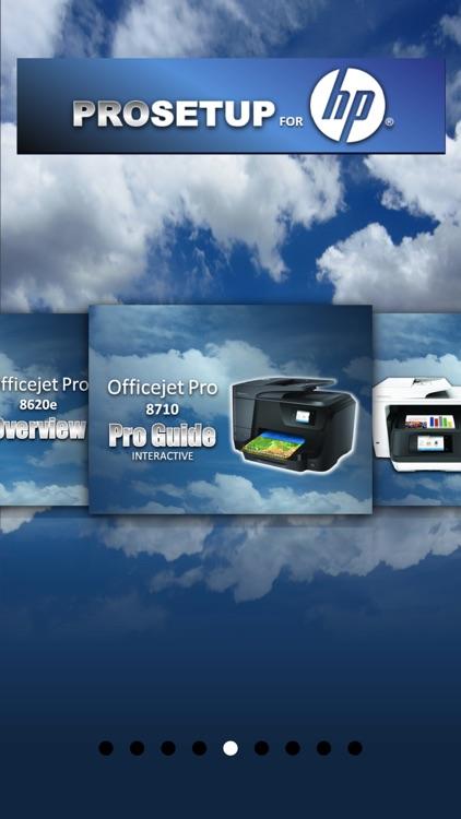 Pro Setup HP Officejet Pro 8500, 8600 & 8700 screenshot-3