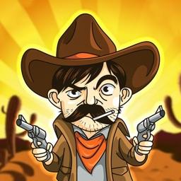 西部牛仔拔枪对决-最刺激的动作游戏