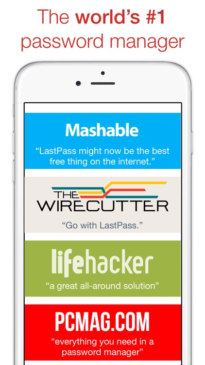 LastPass Password Manager app image