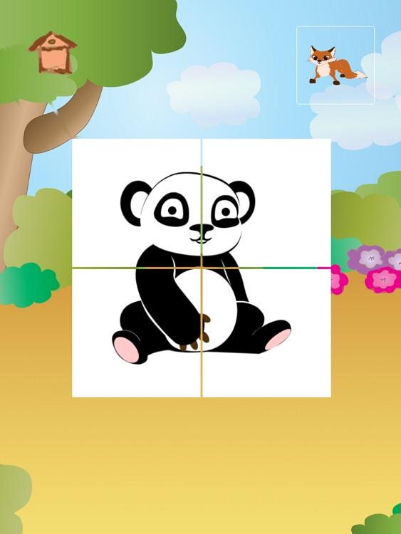 Animal Tiles for Kids HD screenshot-3