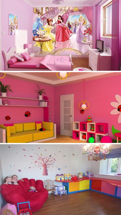 Kids Room Interior - Home Design Ideas for Kids screenshot-3