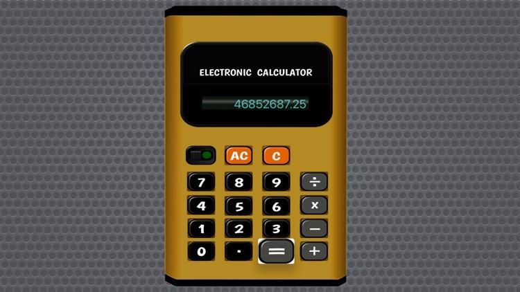 Electronic Pocket Calculator